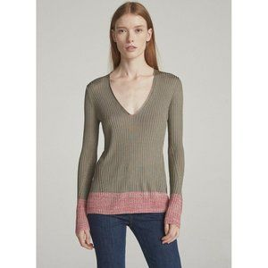 Rag & Bone Alyssa V-neck Sweater Pullover Silky S